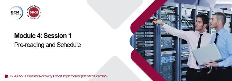 Bann_BL-DR-5_Mod4S1_Pre-reading_Schedule