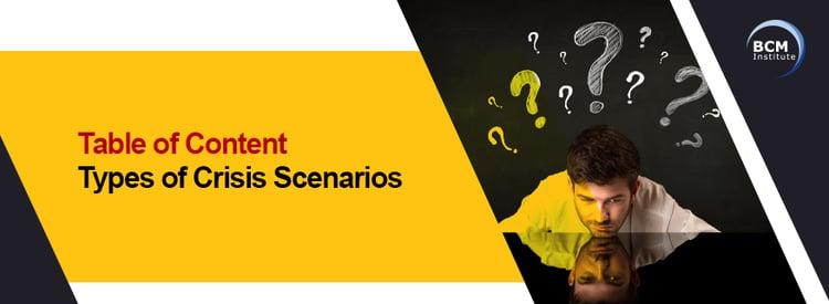 Bann_Types of Crisis Scenario_Crisis Management_